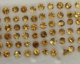 6 Carats Citrine  Gemstones Parcel