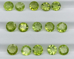 16.30 Carats  Peridot Gemstones Parcel
