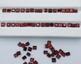 34 Carats Rhodolite Garnet  Gemstones Parcel
