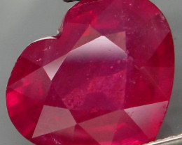 4.75 Cts. Top Quality Blood Red Natural Ruby Madagascar Gem