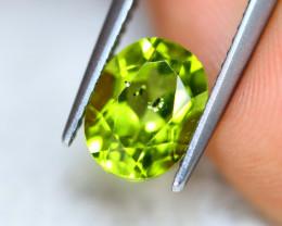 2.56ct Natural Green Peridot Oval Cut Lot V7140