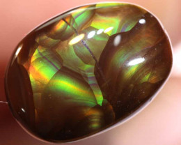 Mexican Fire Agate Stone 4.80 cts I-39