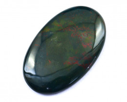Genuine  70.00 Cts  Bloodstone Oval Shape Cabochon V116