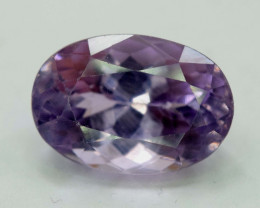 10.55 Carats Oval Cut Rare Purplish Color Apatite Gemstone
