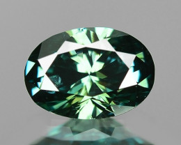 0.33 Cts Fancy Blueish Green Color Loose Diamond
