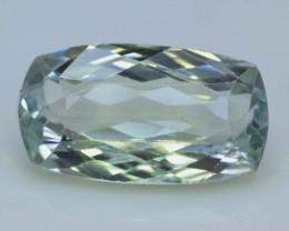 NR - 10.20 cts Green Spodumene Gemstone