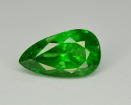 Amazing 2.40 Ct Natural Intense Vivid Green Color Tsavorite Garnet