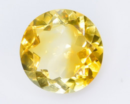 5.31 Crt Natural Citrine Faceted Gemstone.( AB 40)