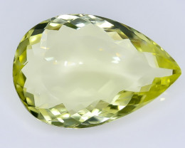 12.77 Crt  Lemon Quartz Faceted Gemstone (Rk-12)