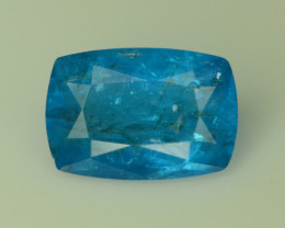 Rare 1.75 ct Blue Apatite ~ Awesome Color and Luster