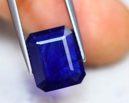 5.69ct Ceylon Blue Sapphire Octagon Cut Lot GW5787