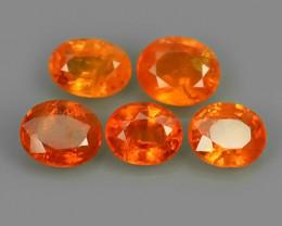 4.65 Cts Unheated Natural Orange Spessartite Garnet Namibia Gem