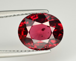 Top Color 3.70 Ct Natural Mahenge Garnet From Tanzania