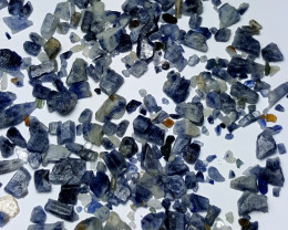 Amazing Natural Blue color Sapphire crystals rough lot 250Cts S.H.S#4