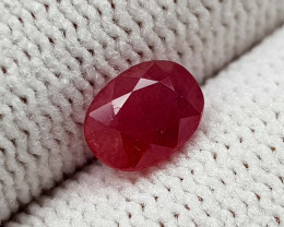 1.09CT NATURAL RUBY HEATED BEST QUALITY GEMSTONE IIGC08