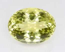 21.24 Crt Lemon Quartz Faceted Gemstone (Rk-13)