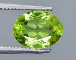 1.95 Crt Peridot Faceted Gemstone (Rk-13)
