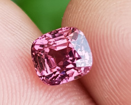 NO TREAT 1.67 CTS NATURAL STUNNING VVS TOP HOT PINK SPINEL FROM BURMA