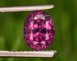 Kashmir Sapphire Purplish Red 1.65 ct,    Free shipping