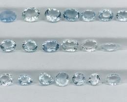 19.10 Carats Aquamarine Gemstones Parcel