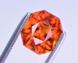Superb Color 2.85 Ct Natural Hessonite Garnet. RA