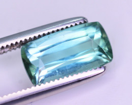 Sky Blue Color 1.95 Ct Tourmaline From Afghanistan. ARA