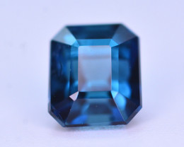 Indicolite Blue Color 1.00 Ct Tourmaline From Afghanistan. ARA