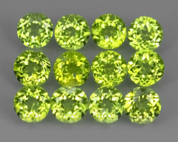 3.65 CTS NATURAL UNHEATED GENUINE LUSTROUS GREEN PERIDOT NR!!