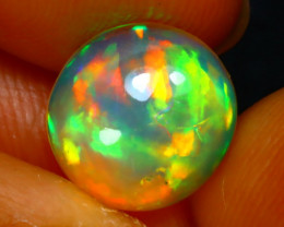 Welo Opal 2.00Ct Natural Ethiopian Play of Color Opal DR122