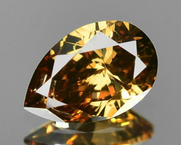 0.33 Cts Untreated Natural Fancy Yellowish Brown Color Loose Diamond