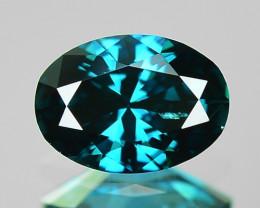 0.28 Cts Fancy Vivid Blue Color Loose Diamond