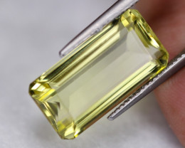 14.64ct Natural Lemon Quartz Octagon Cut Lot V6542