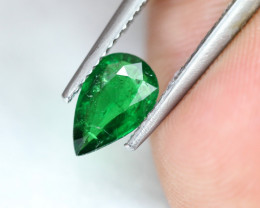 1.04ct Natural Tsavorite Garnet Pear Cut Lot V7767
