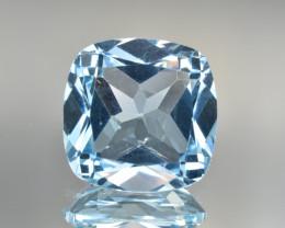 Natural Blue Topaz 12.42 Cts Top Clean Gemstone