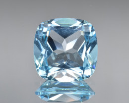 Natural Blue Topaz 12.56 Cts Top Clean Gemstone