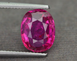 Certified 4.05 ct Ruby Mozambique Unheated & Untreated