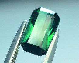 Top Grade 1.25 ct Afghan Greenish Tourmaline ~S.K