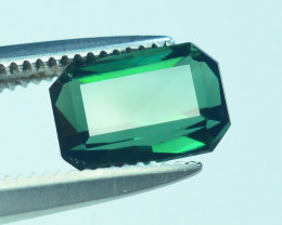 Top Grade 1.30 ct Afghan Greenish Tourmaline ~S.K