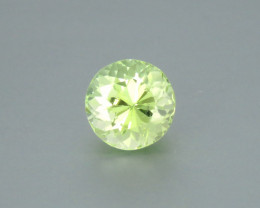 2.73 Carat Excellent Cut Natural Green Tourmaline from Afghanistan