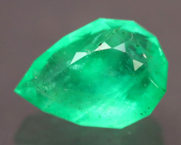 Colombian 2.10Ct Master Piece Designer Cut Colombian Emerald A0513