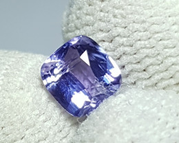 NO HEAT 1.11 CTS CERTIFIED NATURAL STUNNING VIOLET SAPPHIRE FROM SRI LANKA
