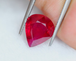 6.69Ct Blood Red Color Ruby Pear Cut Lot LZ5701