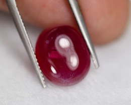 9.48Ct Blood Red Color Cabochon Lot Z546