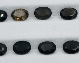 8.50 Carats Smoky Topaz Gemstones Parcel
