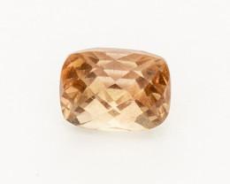 1.25ct Checkered Peach Rectangle Cushion Oregon Sunstone (S2564)