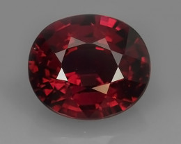 2.60 CTS~ RAREST NATURAL TOP LUSTER RHODOLITE GARNET GEM~