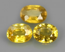 5.05 CTS ATTRACTIVE ULTRA RARE NATURAL YELLOW ZIRCON EXECLLENT!!
