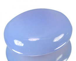 ~HUGE~ 69.52 Cts Natural Lavender Chalcedony Oval Cabochon Turkey