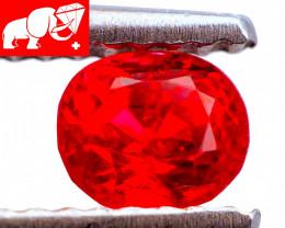 JEDI! VIVID RED! NEON 0.57 CT Jedi Red Spinel (Mogok, Burma) FREE SHIPPING!