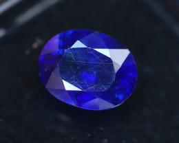 Blue Sapphire 2.80Ct Royal  Blue Sapphire ER33